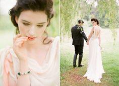 Ravishing Vintage Ireland Wedding Inspiration | Weddingomania