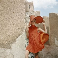 A 1960s Vogue summer look from Palermo, Italy #vogue365