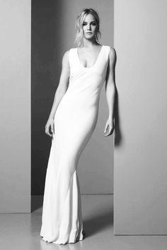 Jennifer Lawrence photographed for Dior/Elle France.