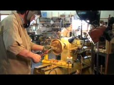 TURNING A (WET) WOOD BOWL ON THE LATHE: PART 2, (INSIDE OF BOWL) - YouTube