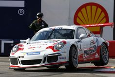 Kuba Giermaziak (PL) Porsche Mobil 1 Supercup Monaco 2015