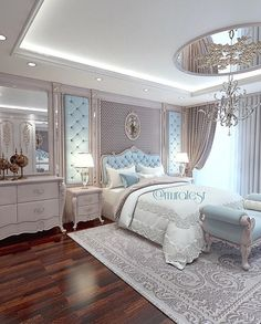 This is a Bedroom Interior Design Ideas. House is a private bedroom and is usually hidden from our guests. However, it is important to her, not only for comfort but also style. Much of our bedroom … Cozy Bedroom, Home Decor Bedroom, Modern Bedroom, Bedroom Ideas, Bedroom Furniture, Royal Bedroom, Classic Bedroom Decor, Indie Bedroom, Bedroom Inspiration