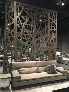Trendscout IMM Köln 2017   Stil Fabrik Blog Christoph Baum Luxsus Ledersofa  In Grau