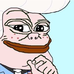 WHAT THE HECK? WHAT EVEN IS THIS? THIS IS TERRIFYING! <-- return of the Pepes