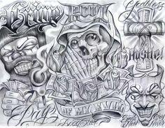 cool Chicano tattoos