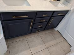 Master bathroom cabinets refinished by Chameleon Painting SLC UT. Benjamin Moore Old Navy. Refinishing Cabinets, Master Bathroom, Kitchen Cabinets, Cabinet, Refinishing Furniture, Home Decor, Kitchen, Laundry Room Cabinets, Bathroom Cabinets