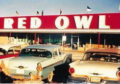 One of the Red Owl stores in Minot, North Dakota Normal School, Piggly Wiggly, Red Owl, Third Street, New Names, Twin Cities, Town And Country, North Dakota, Minneapolis