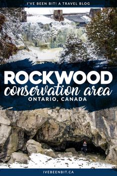 Whether you're looking for a great hike, a dose of adventure or a waterfall, Rockwood Conservation Area in Ontario, Canada will surprise you with how much it has to offer! Travel to Guelph, Ontario for these hiking trails. Explore the Rockwood caves and see some waterfalls of Ontario, Canada. | #Travel #Canada #Ontario #Guelph #Hiking #Waterfalls | IveBeenBit.ca