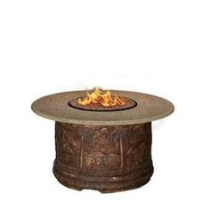 California Outdoor Concepts - 7310 - Palm - Chat Height Firepit * Pinterest Friends Only: Save 10% on everything on PatioProductsUSA.com with #coupon code PIN10 *