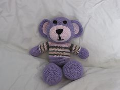Cute Purple Teddy