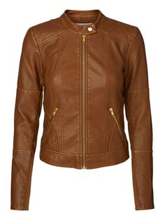 Leather-look jacket from VERO MODA. #jacket #autumn #veromoda #fashion