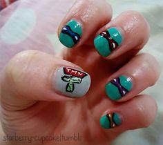 TMNT nail art