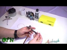 How To Airbrush for the complete beginner - YouTube