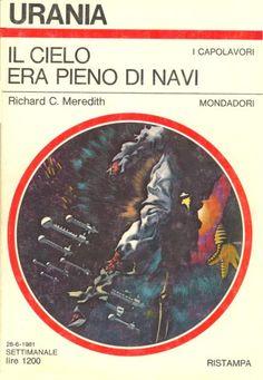 894  IL CIELO ERA PIENO DI NAVI 28/6/1981  THE SKY IS FILLED WITH SHIPS (1969)  Copertina di  Karel Thole   RICHARD C. MEREDITH *Ristampa del n. 540