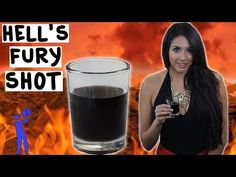 How to make Hell's Fury Shot - Tipsy Bartender - YouTube