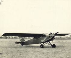 Cessna Model A   Photograph   Wisconsin Historical Society