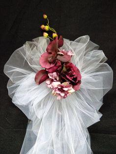 36 best Wedding bows images on Pinterest   Wedding pew bows, Wedding ...