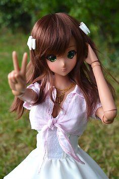 Smart Doll Ebony by archeotech es muy bonita tu primera smattdoll