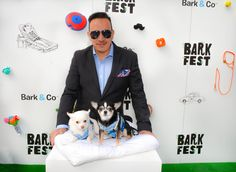 Anthony Rubio and Chihuahua duo Bogie and Kimba at 2016 #BarkFest, the Coachella for dogs at Pier 97 in New York. A festive gathering, offering lots of wonderful activities and presentations for all to enjoy.  Instagram: https://www.instagram.com/anthonyrubio01/   Website: www.AnthonyRubioDesigns.com