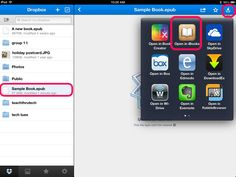 Share Book Creator Stories Across Devices Using Dropbox