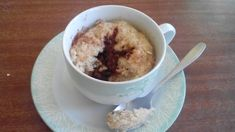 Mug Cake de Avena y Nutella | Sweet Blessings