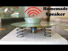 How to Make a Speaker using CD at Home - YouTube