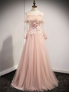 Pink Prom Dresses, Tulle Prom Dress, Homecoming Dresses, Evening Dresses, Party Dress, Flower Girl Dresses, Formal Dresses, Maxi Dresses, Pink Tulle