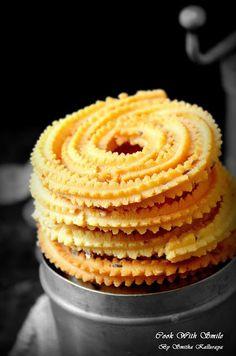 CHAKLI RECIPE / RICE FLOUR CHAKLI RECIPE / CHAKKULI   Cook With Smile Rice Flour Recipes, Veg Recipes, Indian Food Recipes, Vegetarian Recipes, Snack Recipes, Cooking Recipes, Puri Recipes, Indian Desserts