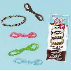 Amscan Hippie Chick Friendship Bracelet Kits (12) by Amscan. $8.26. Kids Birthday Bracelets. 12 per package.. Includes 12 Friendship Bracelet Kits.