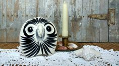 Check out this item in my Etsy shop https://www.etsy.com/listing/93083091/retro-tonala-pottery-owl-figurine-from