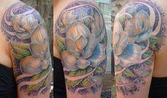 Pretty flower quarter sleeve