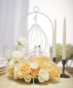 Love Birds Centerpiece  - Wedding Centerpiece, $20.98 EXTRA 20% OFF TODAY  #gardenwedding #lovebirdwedding