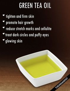 You might have heard of many essential oils but I am sure many of you are not aware of green tea oil! Green tea is beneficial for our health and skin when ta...