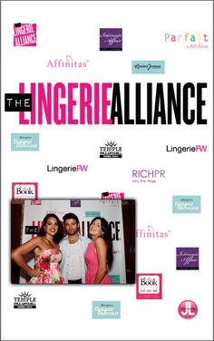 The Lingerie Alliance Launch Event  5' x 8' Gold Professional
