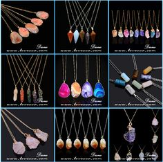 Wholesale Druzy Necklace Agate Jewelry Natural Stone Necklace, View necklace with stone, Dione Product Details from Guangzhou Dione Crafts Co., Ltd. on Alibaba.com