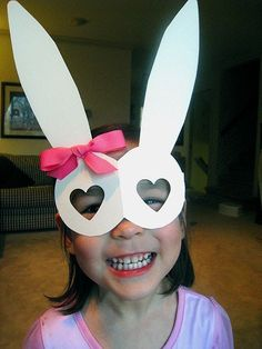 22 Fun, Easy (and Cheap!) Easter Crafts for Kids  I can actually imagine you in these Allanagh!