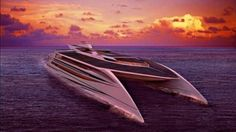 Suater Carbon has designed a 42 –meter long luxury yacht, Ocean Supremacy, that is green and does not compromises with any amenities. Perhaps, it's the fasted and greenest luxury car ever produced. It can reach a top speed of 53 knots. It harnesses solar, wind energy and uses biomass diesel fuel.
