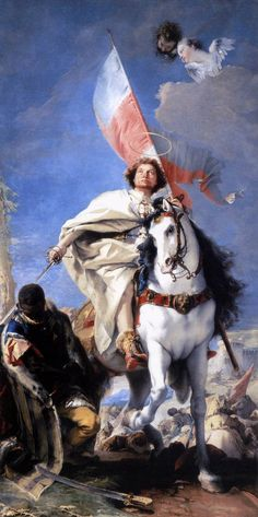 Giovanni Battista Tiepolo, St. James the Greater Conquering the Moors, 1749. Oil on canvas, Museum of Fine Arts, Budapest.