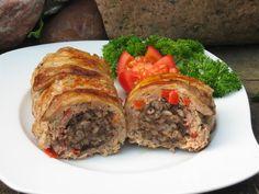 Bardzo smacze danie z grilla, szczególnie podane z pieczywem i zimnym piwkiem