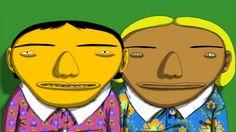 A dupla de artistas brasileiros OSGEMEOS volta com seus icônicos personagens coloridos em um novo trabalho intitulado Conexão Paralela (Parallel Connection), uma animação interativa que ganhará os painéis eletrônicos da Times Square
