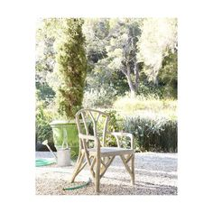 Artemis Faux-Bois Outdoor Dining Chair (610 AUD) ❤ liked on Polyvore featuring home, outdoors, patio furniture, outdoor chairs, natural, outdoor patio chairs, outdoor patio furniture, outdoors patio furniture and outside patio chairs