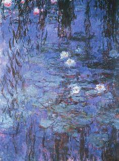 Monet Wallpaper, Painting Wallpaper, Water Lilies Painting, Monet Water Lilies, Famous Artists Paintings, Monet Paintings, Aesthetic Painting, Aesthetic Art, Claude Monet