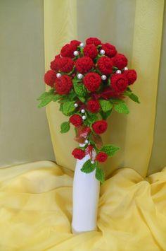 Flores de crochê. Seleção de inspiração (13) (465x700, 211KB)