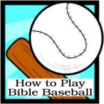 How to Play Bible Baseball: A Super Bible Activity for Kids
