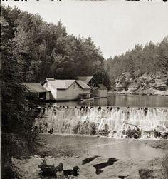 Mirror Lake Dam | Photograph | Wisconsin Historical Society