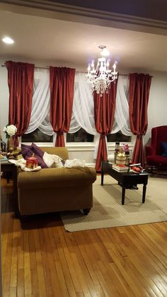Emie Solid Sheer Rod pocket Curtain Panels Features: -Dry clean only. does include the header on the curtain panel. -Set of 2 sheer panels. Product Type: -P Living Room Red, Home And Living, Living Room Decor, Dining Room, Drapes Curtains, Brown Curtains, Modern Curtains, Valances, Hanging Curtains