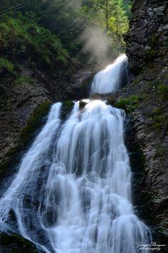 Rachitele Waterfall, Cluj County, Romania Romania, Waterfall, Architecture, Travel, Outdoor, Cabin, Arquitetura, Outdoors, Viajes