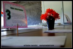 Young Teacher Love: Open House Goodies and A Classroom Tease!!