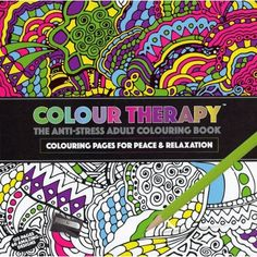 Colour Therapy Anti Stress Pattern Colouring Book 384030