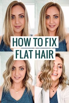 How to fix flat hair - this is an amazing tool from Bed Head that gives a lot of lift! Bed Head Little Tease Beauty Tips For Women, Beauty Guide, Beauty Hacks, Curl Styles, Long Hair Styles, Fine Hair Tips, Hair Fixing, Daily Beauty Routine, Hair Care Routine